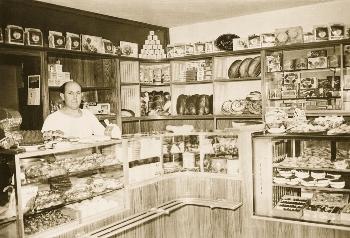 Historischer Verkaufsraum Bäckerei Stöckle