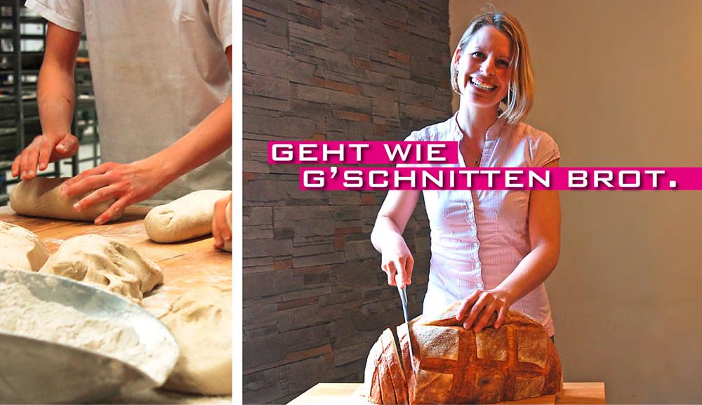 Geht wie geschnitten Brot