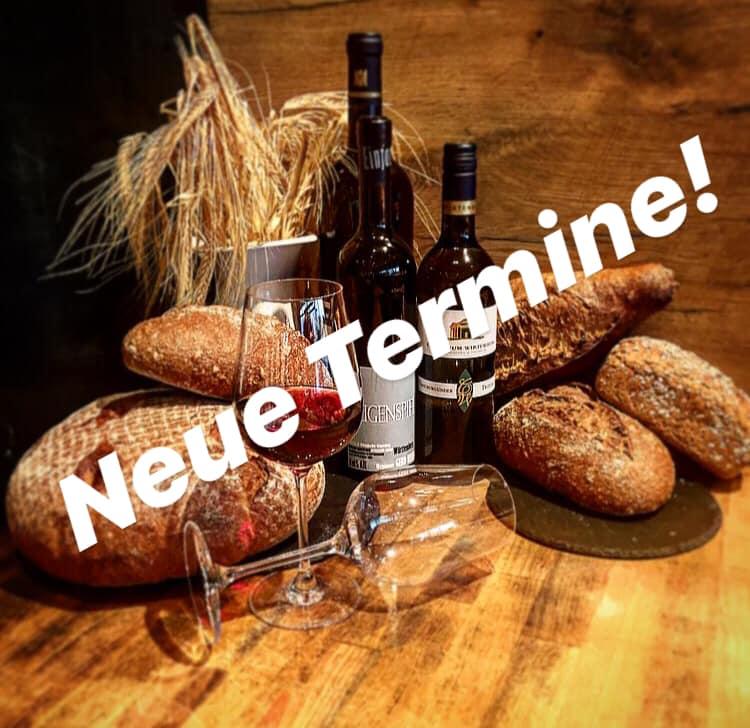 Brot & Wein Neue Termine